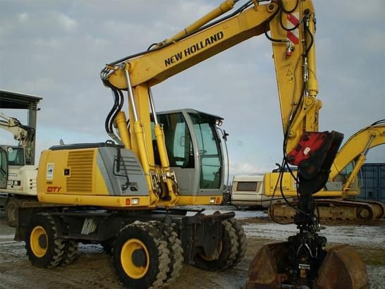 Колесный грейфер New Holland MH CITY - Санкт-Петербург